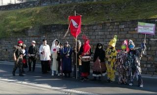 Maćkare ovvéro štrace sz Kurt (Šeme ali cunje iz Kort) na 11. istrskem karnevalu 2019 v Kopru