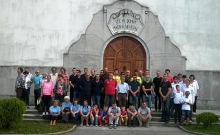 Vseslovensko srečanje pritrkovalcev 2015 na Mirenskem gradu
