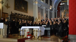 Koncert združenih zborov v Izoli