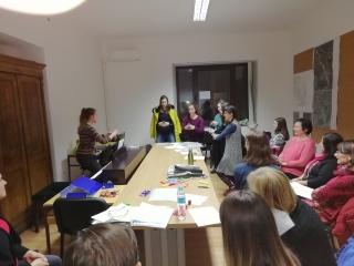 Na drugi pevski vaji prenovljenega zbora